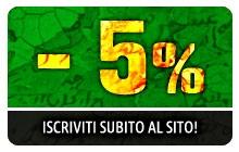 Sconto 5% iscrizione