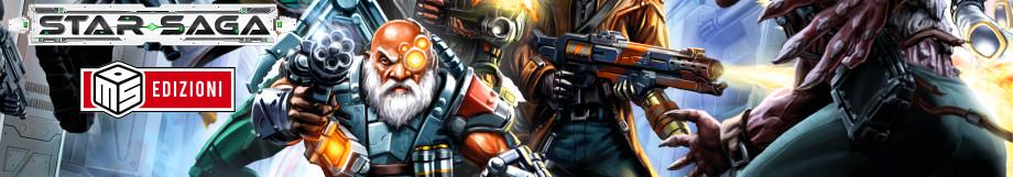 STAR SAGA: Avventure di Fantascienza per 1-5 Giocatori