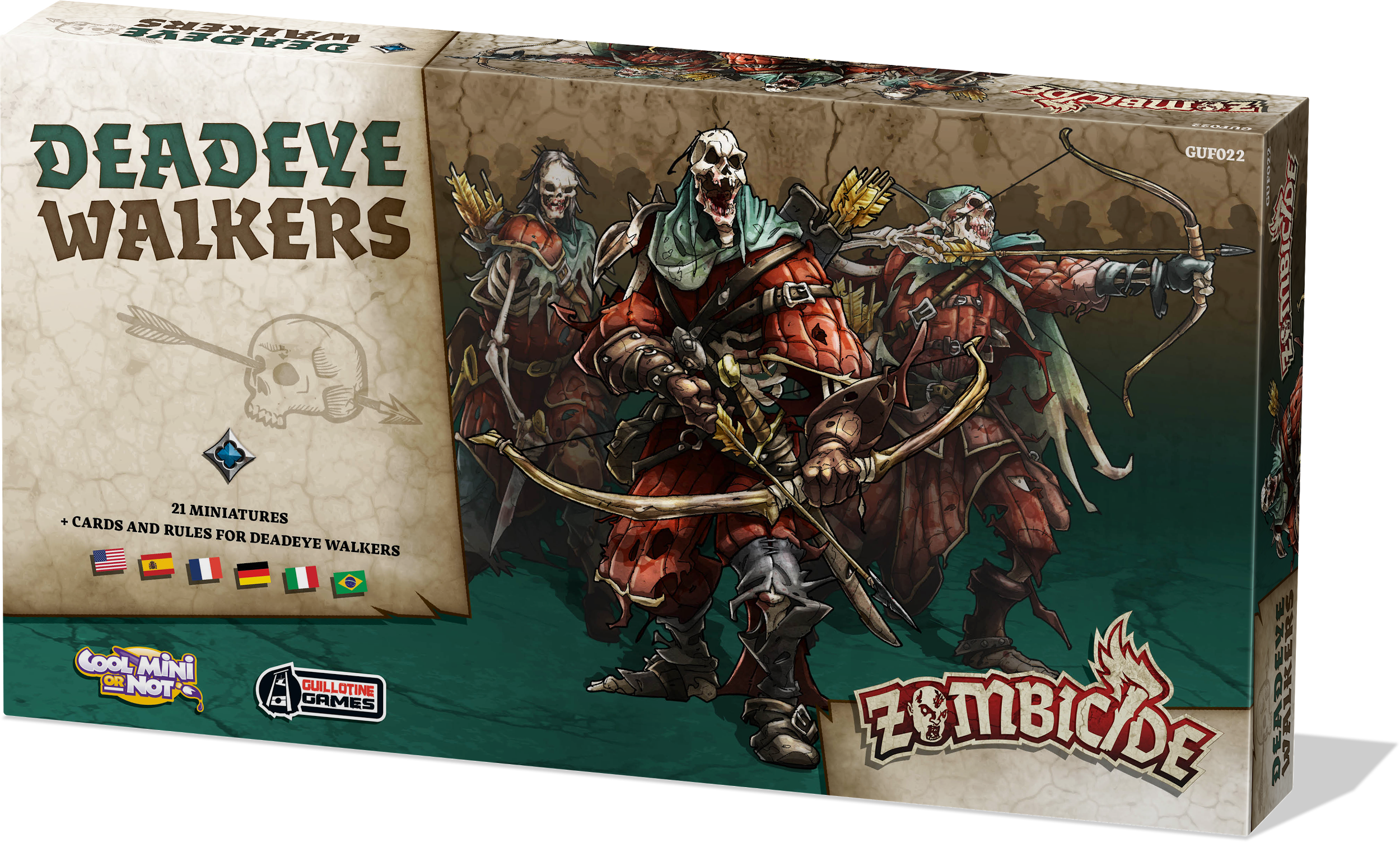 ZOMBICIDE BLACK PLAGUE: DEADEYE WALKERS