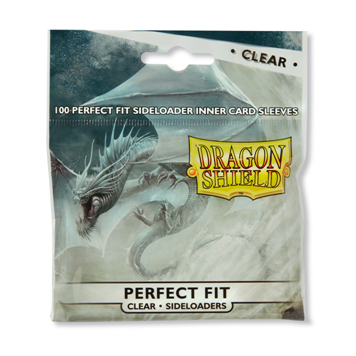 DRAGON SHIELD PERFECT FIT - CLEAR 100 (PERFECT SIZE) SIDELOADERS