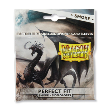 DRAGON SHIELD PERFECT FIT - SMOKE 100 (PERFECT SIZE) SIDELOADERS