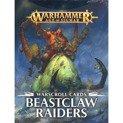 AGE OF SIGMAR - WARSCRILL CARDS - BEASTCLAW RAIDERS