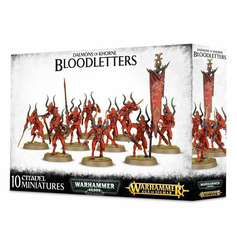 AGE OF SIGMAR - BLOODLETTERS