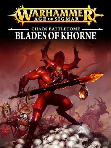 AGE OF SIGMAR - BLADES OF KHORNE
