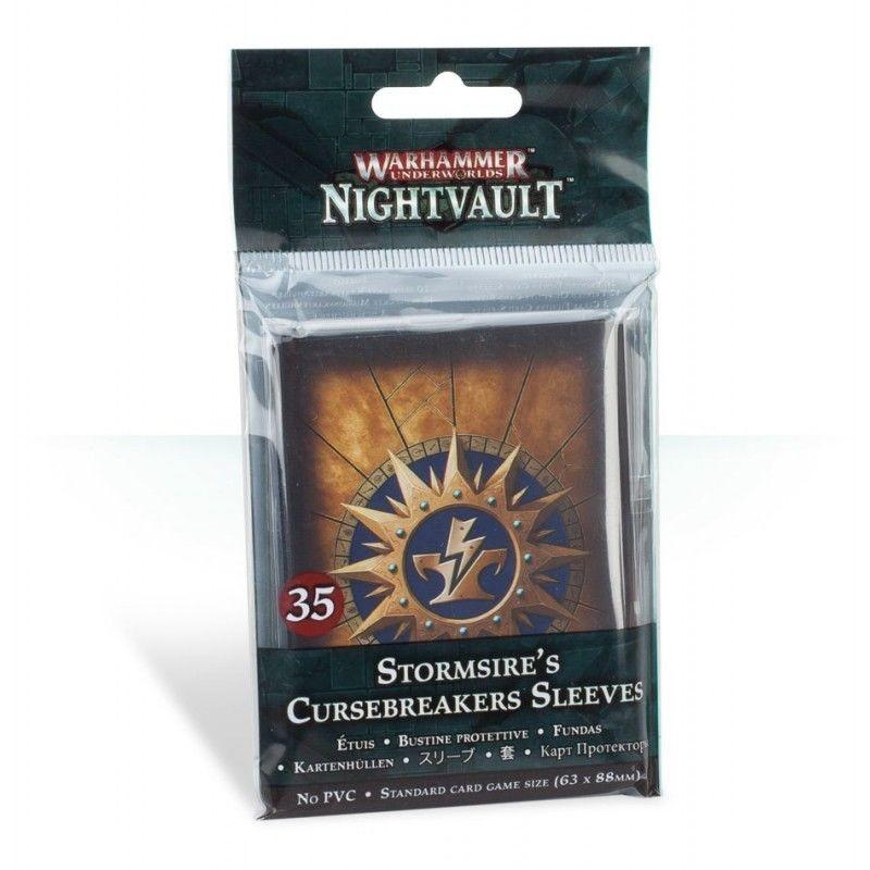 WARHAMMER - NIGHTVAULT - CURSEBREAKERS SLEEVES 63X88MM - 35 BUSTE