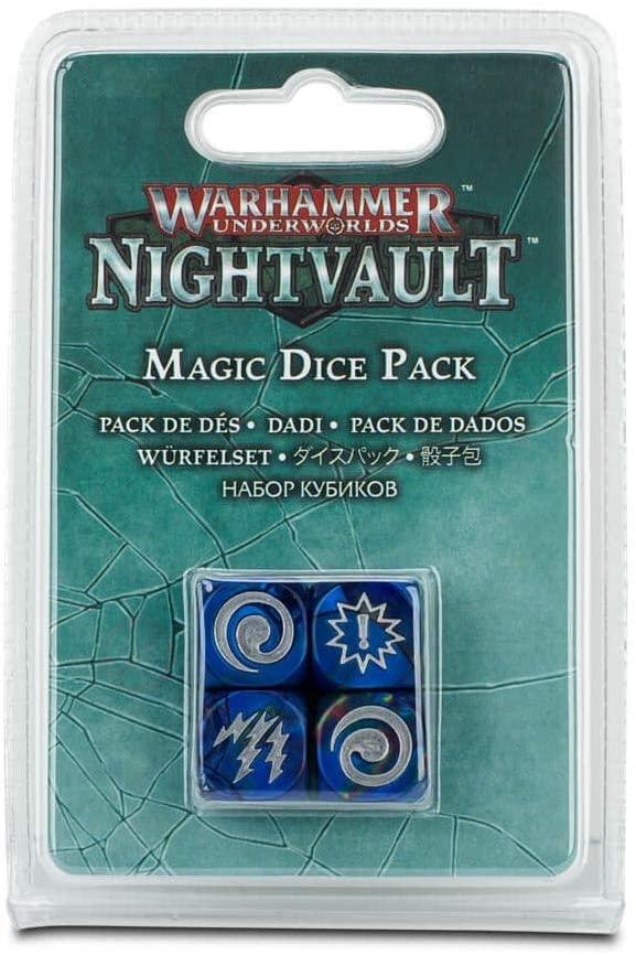 WARHAMMER UNDERWORLDS - NIGHTVAULT - MAGIC - DICE PACK