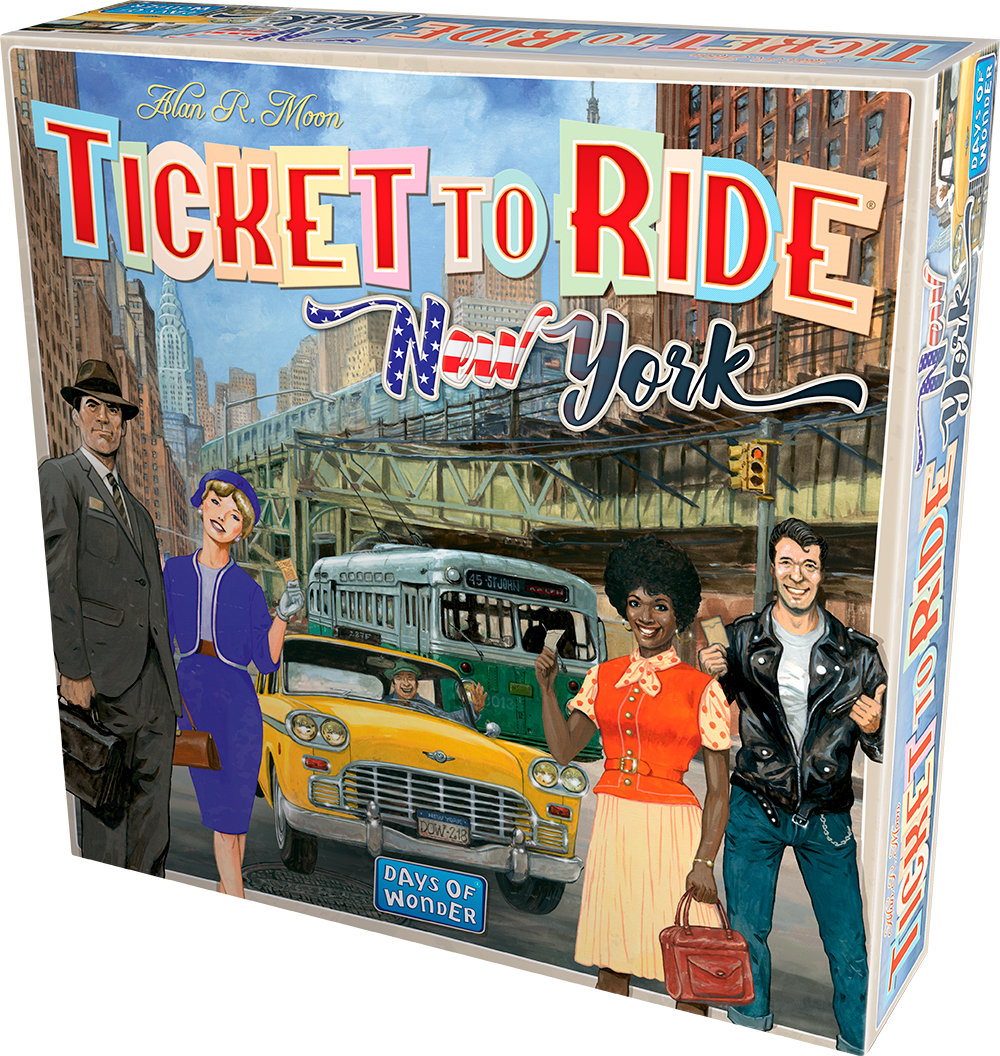 TICKET TO RIDE - NEW YORK - IN ITALIANO