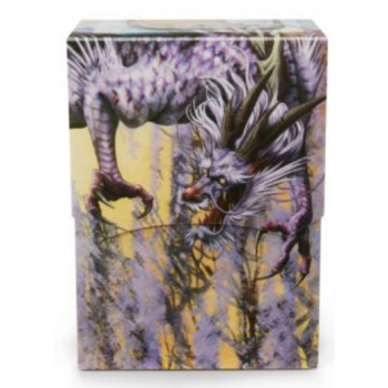 DRAGON SHIELD DECK SHELL - PORTA MAZZO - LILAC 'PASHALIA'