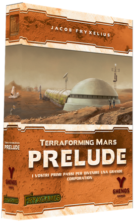 TERRAFORMING MARS - PRELUDE - ESPANSIONE