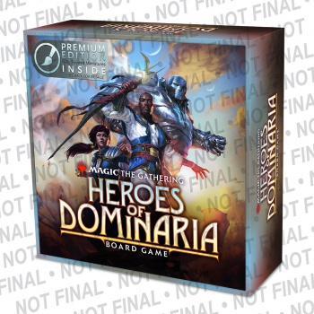 MAGIC THE GATHERING: HEROES OF DOMINARIA BOARD GAME - PREMIUM EDITION