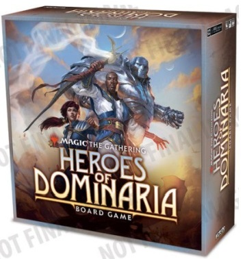 MAGIC THE GATHERING: HEROES OF DOMINARIA BOARD GAME - STANDARD EDITION