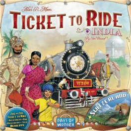 TICKET TO RIDE - INDIA - ESPANSIONE