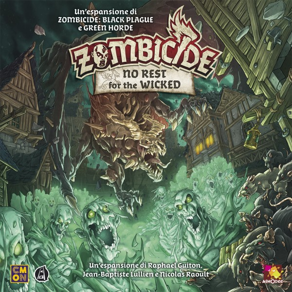 ZOMBICIDE: NO REST FOR THE WICKED - ITALIANO