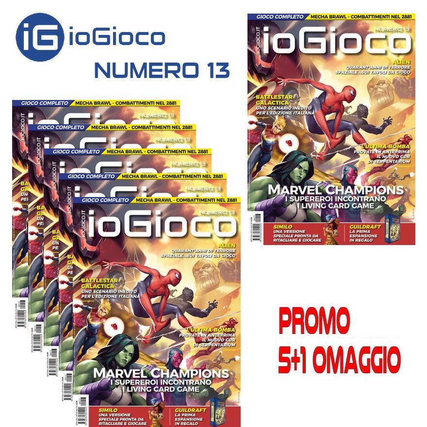 RIVISTA - IOGIOCO - NUMERO 13 - PROMO 5+1 OMAGGIO
