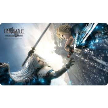 FFTCG TAPPETINO PLAY MAT - FFVII ADVENT CHILDREN - CLOUD SEPHIROTH