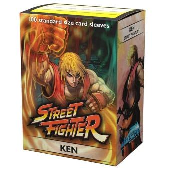 DS100 SLEEVES STANDARD CLASSIC ART - JASCO STREET FIGHTER KEN