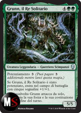 GRUNN, IL RE SOLITARIO