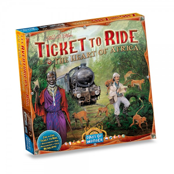 TICKET TO RIDE - THE HEART OF AFRICA ITA