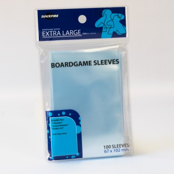 BF BOARDGAME SLEEVES - EXTRA LARGE (67X102 MM) - 100 PZ
