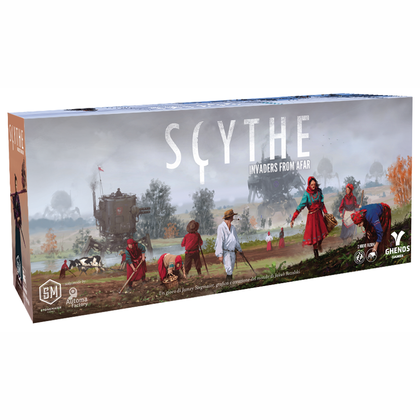 SCYTHE - INVADERS FROM AFAR - ESPANSIONE