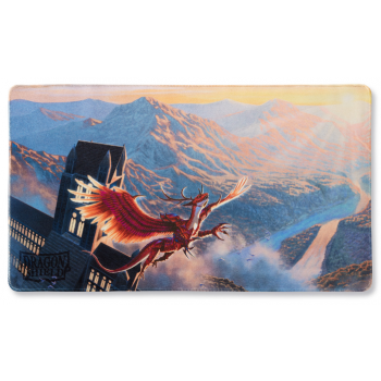 DRAGON SHIELD PLAYMAT - CRIMSON LOGI (LIMITED EDITION)