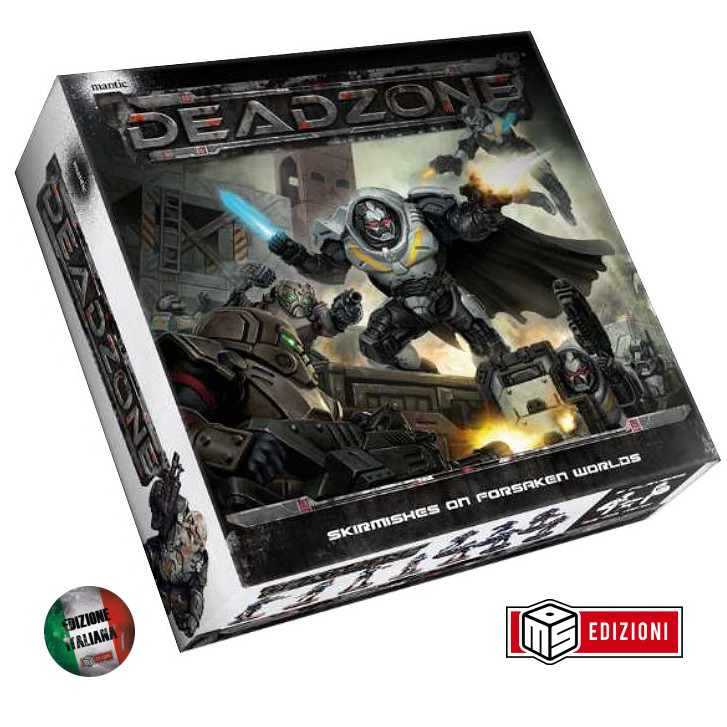 DEADZONE 2 - STARTER SET - ED ITALIANA