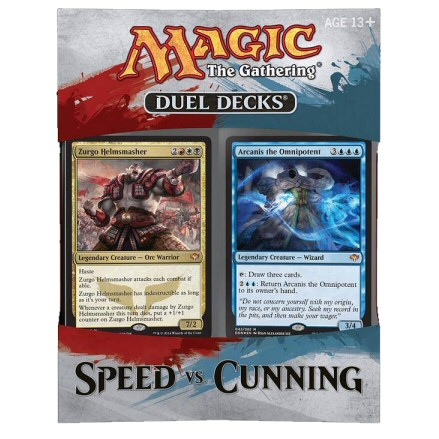 DUEL DECK SPEED VS CUNNING - 1 MAZZO - INGLESE