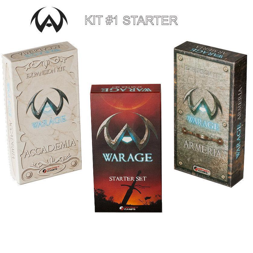 WARAGE KIT #1 STARTER + ACCADEMIA + ARMERIA