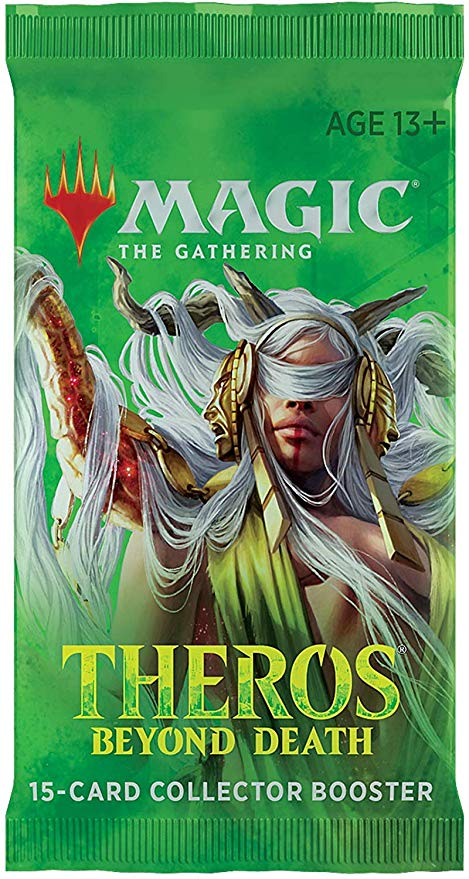 THEROS OLTRE LA MORTE - COLLECTOR BOOSTER 1 BUSTA SFUSA - INGLESE
