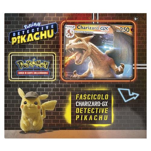 POKEMON DETECTIVE PIKACHU - FASCICOLO CHARIZARD GX