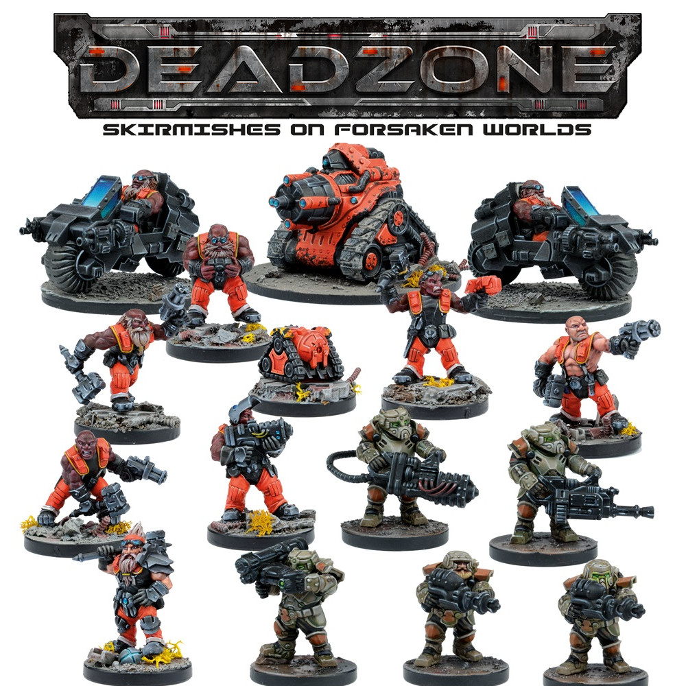 DEADZONE 2 - FORGE FATHER - FACTION BOOSTER