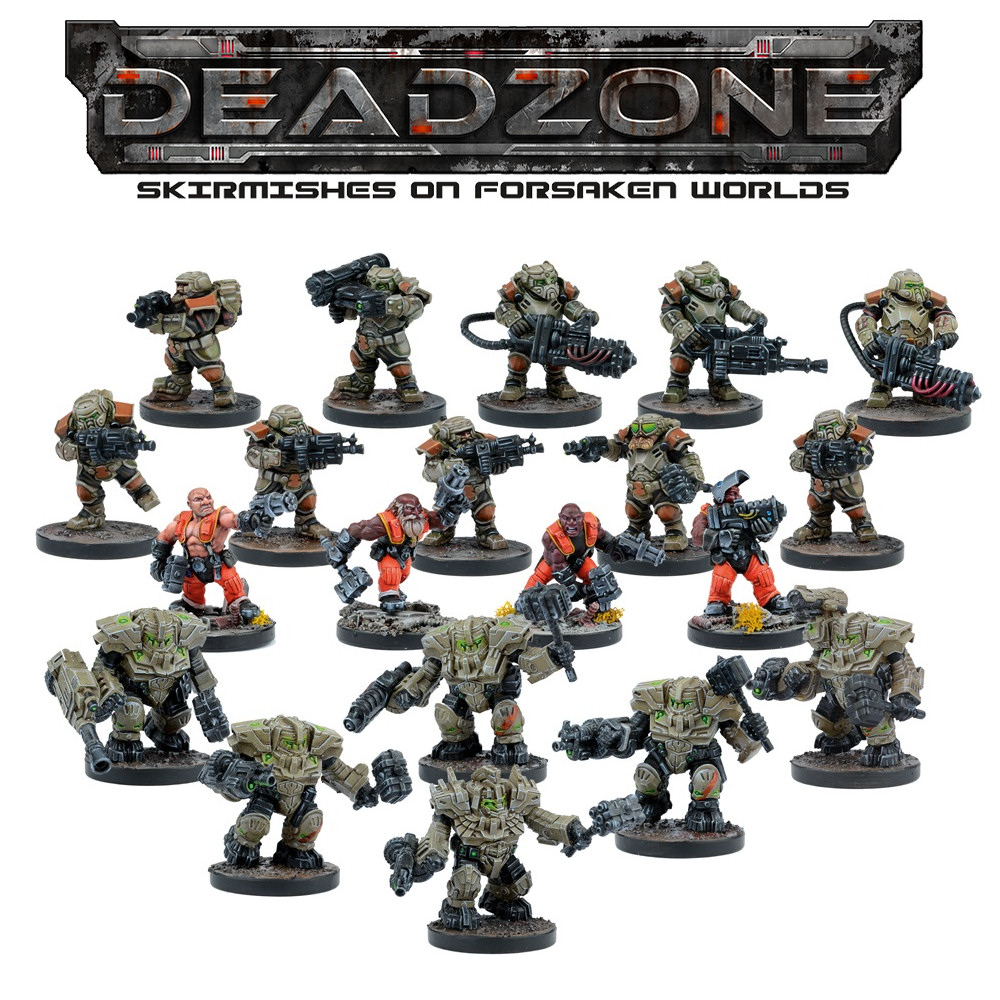 DEADZONE 2 - FORGE FATHER - FACTION STARTER