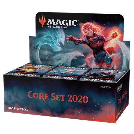 CORE SET 2020 - BOX 36 BUSTE INGLESE