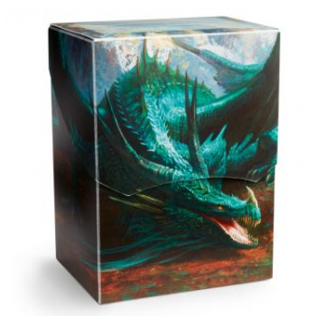 DRAGON SHIELD DECK SHELL - PORTA MAZZO - MINT 'COR' (LIMITED EDITION)