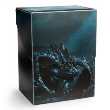 DRAGON SHIELD DECK SHELL - PORTA MAZZO - SLATE 'ESCOTAROX' (LIMITED EDITION)