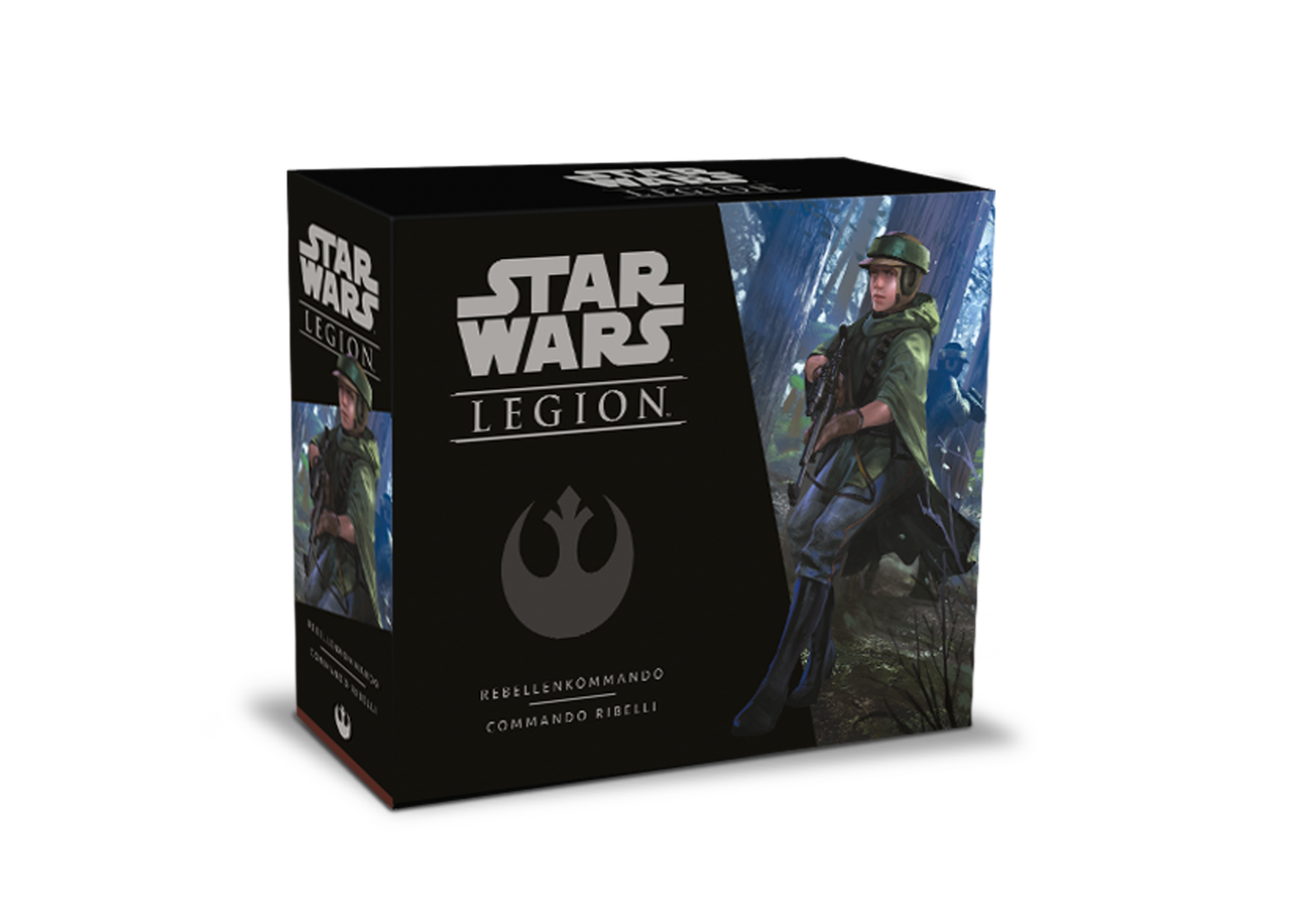 STAR WARS: LEGION - COMMANDO RIBELLI - ESPANSIONE