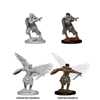 D&D NOLZU'S MARVELOUS MINIATURES: MALE AASIMAR FIGHTER