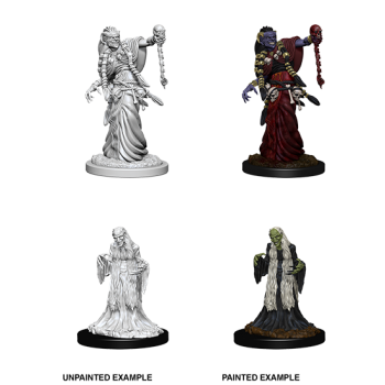 D&D NOLZU'S MARVELOUS MINIATURES: GREEN HAG & NIGHT HAG