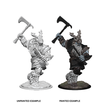 D&D NOLZU'S MARVELOUS MINIATURES: FROST GIANT MALE - 6 UNITA'