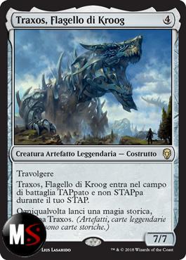 TRAXOS, FLAGELLO DI KROOG - FOIL