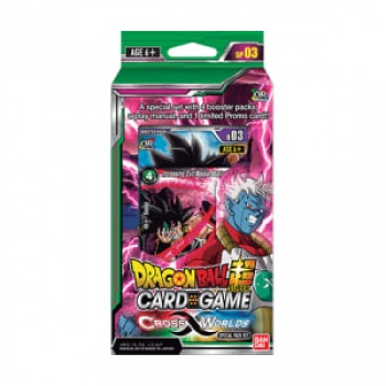 DRAGON BALL CROSS WORLDS SPECIAL PACK - (6 PZ) CARD GAME - ING