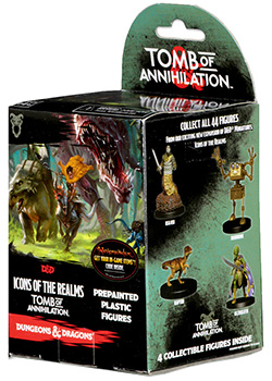 D&D 5A EDIZIONE - ICONS OF THE REALMS: TOMB OF ANNIHILATION (BOOSTER SINGOLO)