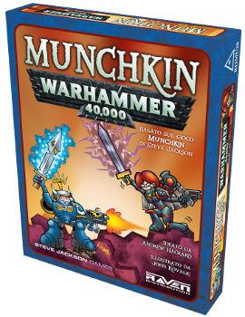 MUNCHKIN WARHAMMER 40000 - ITALIANO