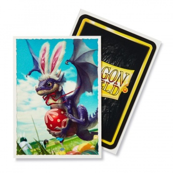 DRAGON SHIELD STANDARD MATTE ART SLEEVES DA 100 - EASTER DRAGON