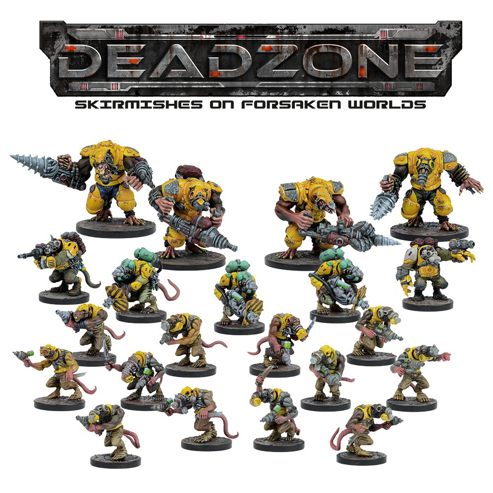 DEADZONE 2 - VERR-MYN - FACTION STARTER