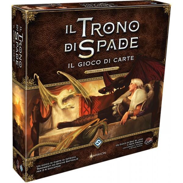 IL TRONO DI SPADE - IL GIOCO DI CARTE - SCATOLA BASE - SECONDA EDIZIONE