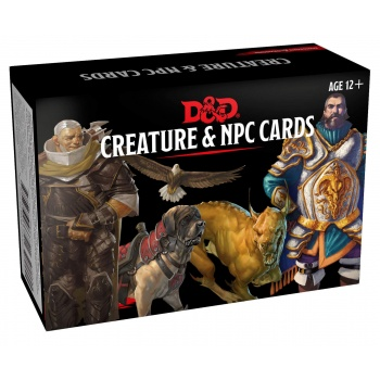 DUNGEONS & DRAGONS 5A EDIZIONE - MAZZO CARTE PNG & CREATURE