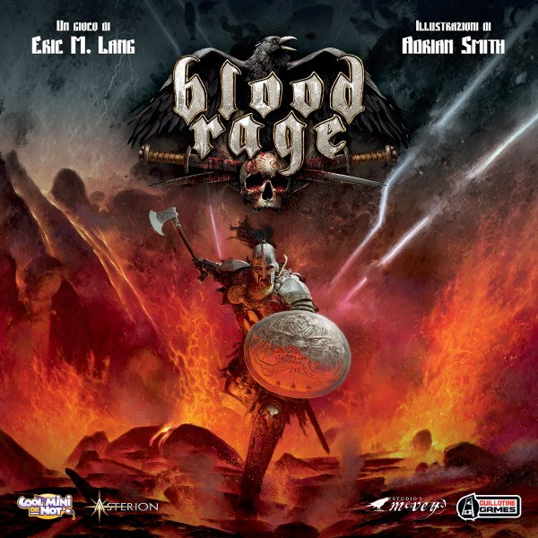 BLOOD RAGE - GIOCO BASE - EDIZIONE ITALIANA