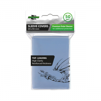 BLACKFIRE SLEEVES - STANDARD CCG CARD SLEEVE COVERS (69X94MM) - 50 BUSTE