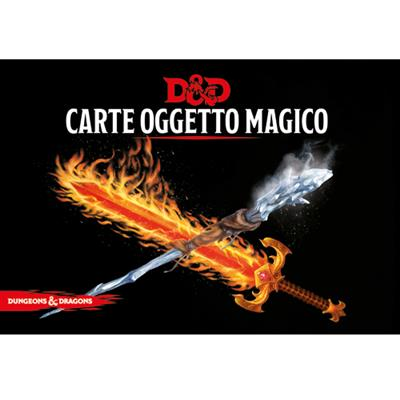 DUNGEONS & DRAGONS 5A EDIZIONE - CARTE OGGETTO MAGICI